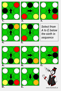 Billiard Ball Puzzle Last-in-Sequence
