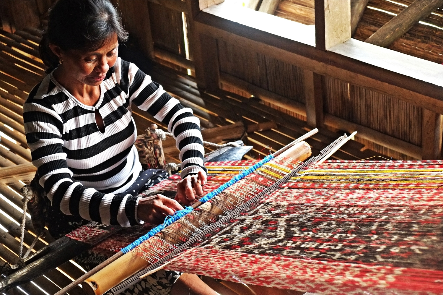 Tnalak Weaving