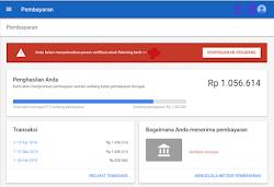 Cara Verifikasi Rekening Bank Di Akun Google Adsense 2019 Dengan Mudah