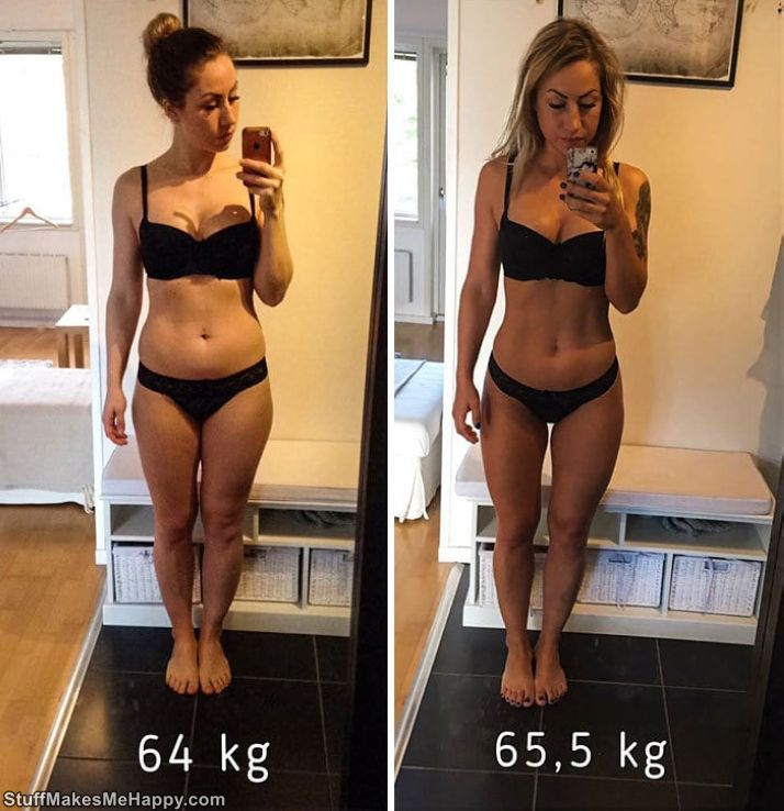 11. Fuck the scales. True 64 to 65 KG