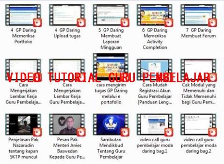 Kumpulan Video Tutorial Guru Pembelajar