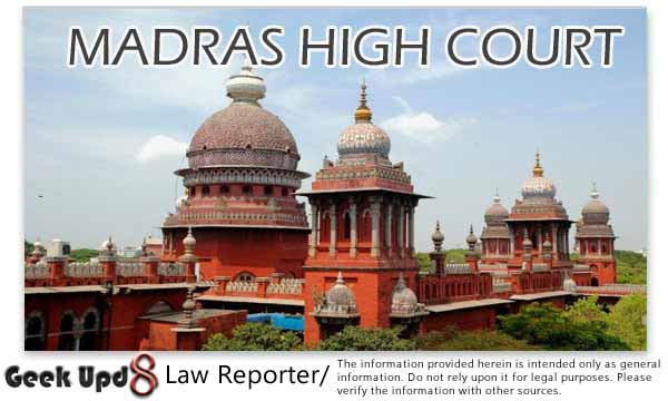Madras High Court Judgments