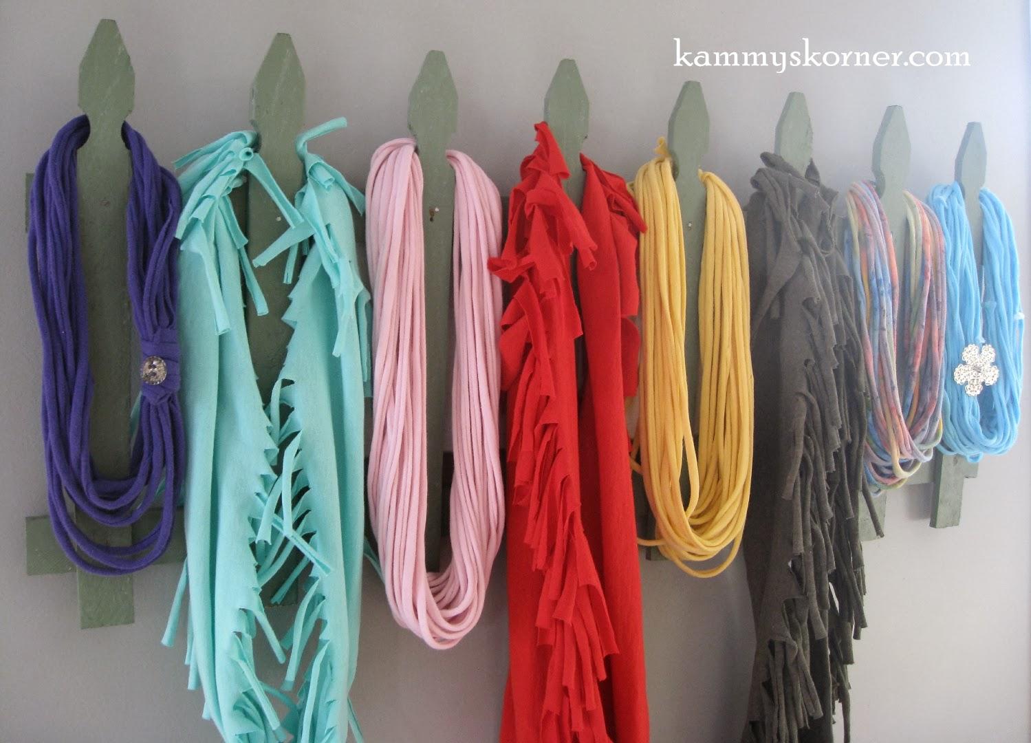 Kammy's Korner: Scarf Holder. Scarf Hanger. Scarf Rack ...