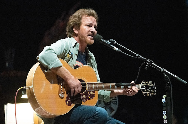 Eddie Vedder Previews New Solo Album With 'Long Way'