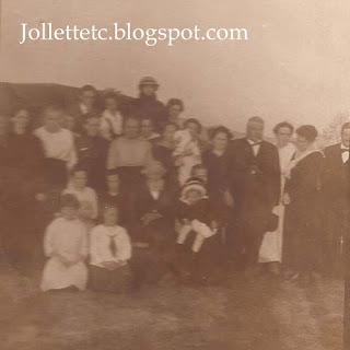 Early Jollett Reunion before 1920 Harriston, Virginia http://jollettetc.blogspot.com