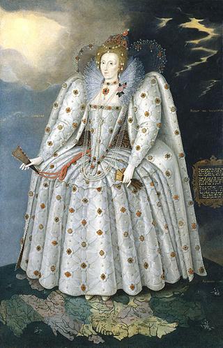 Queen Elizabeth I Ditchley Portrait 1592