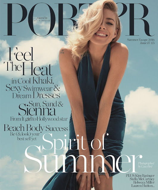 Actress, Model, @ Sienna Miller for Porter Magazine Summer Escape 2016