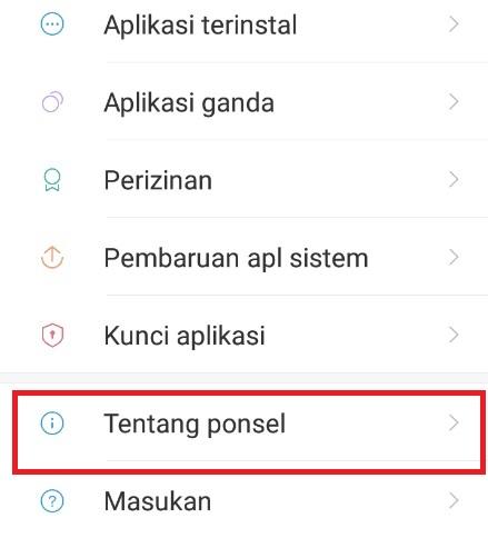 Tentang Ponsel Hp Xiaomi