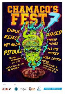 Festival CHAMACO'S 7 | FONTIBÓN Bogotá