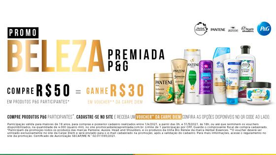 Promoção Beleza Premiada P&G