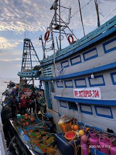 Bakamla RI  Kembali Berhasil Menangkap 2 Kapal Pencuri Ikan Asal Vietnam
