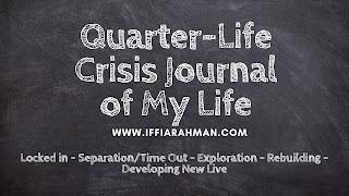Quarter-Life Crisis Journal of My Life