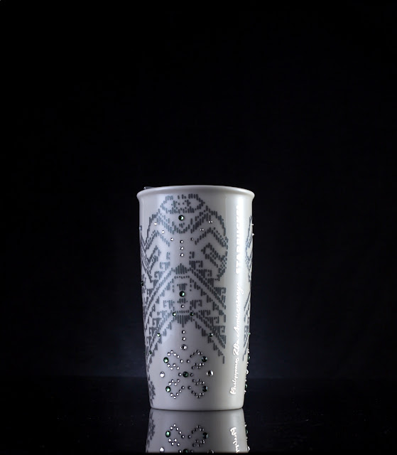 White 20th Anniversary Ceramic Mug