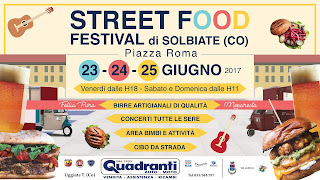 Street Food Fest 23-24-25 giugno Solbiate (CO)