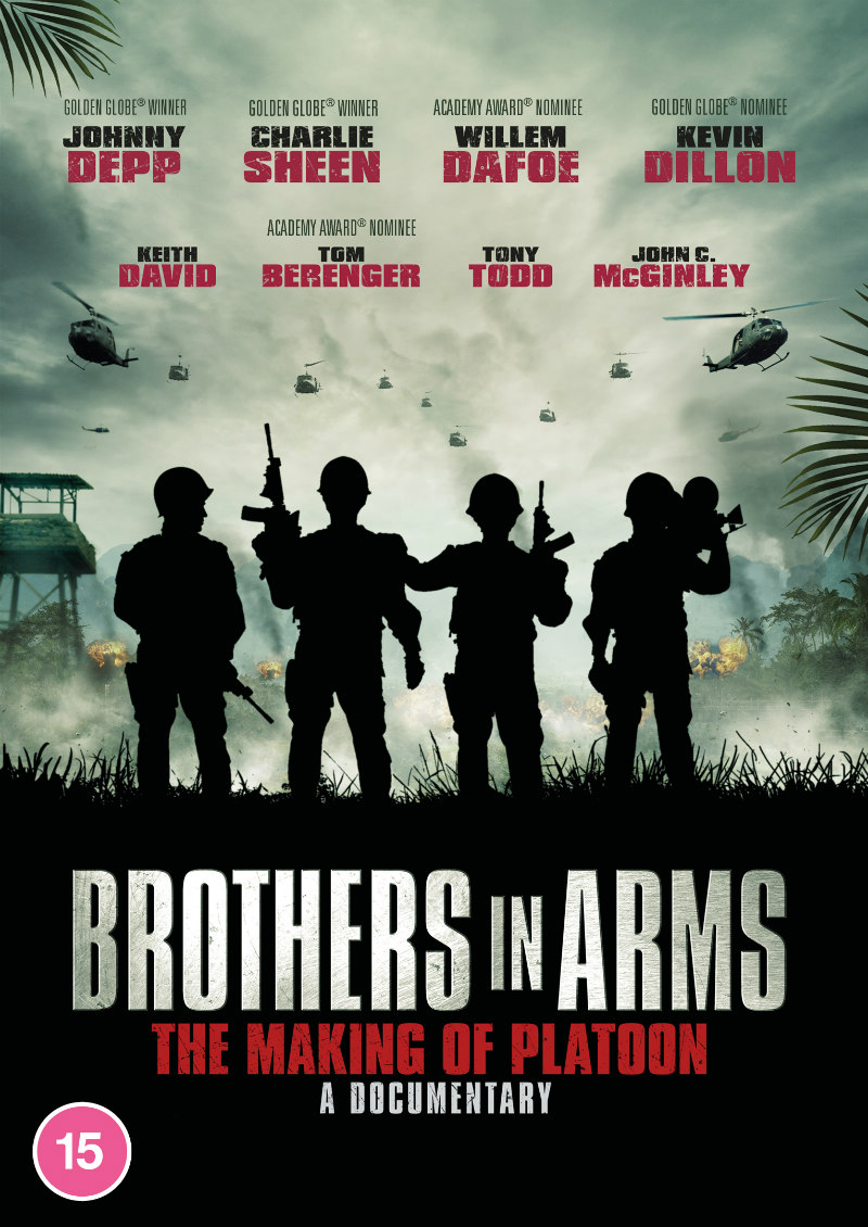 Brothers in Arms: The Making of Platoon dvd