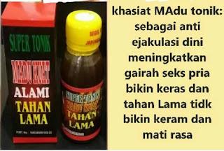 Madu Kuat Ngesex tahan Lama Super Tonik 6 X Original