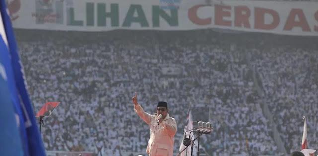 Kampanye Akbar Prabowo-Sandi Fenomena Baru di Indonesia Bahkan Dunia