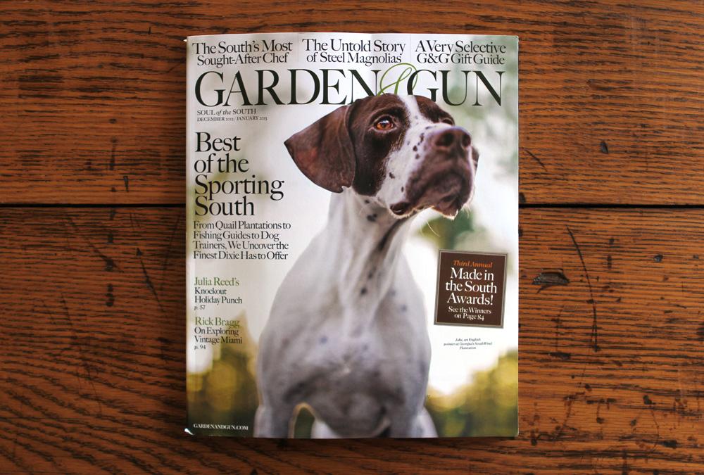 In Garden & Gun  – Old Try