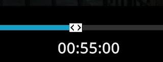 Kodi avanzar a un minuto exacto