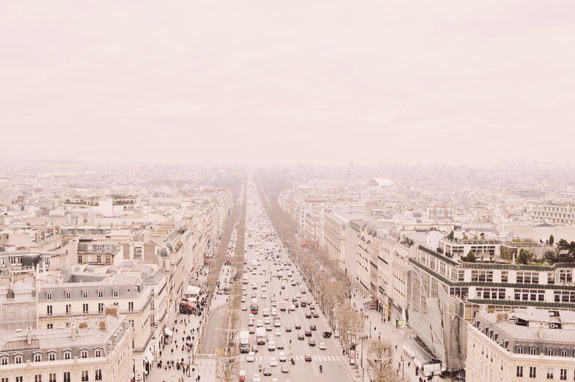places to visit in paris in 2 days view of champs d'elysee from arc de triomphe