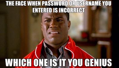your password is incorrect joke