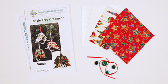 Contents of the Jingle Tree Ornament Kit