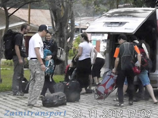 Transport to Ijen Sharing