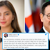 "DFA Sec. Teddy Locsin, Jr. Dinepensahan ang Aktres na si Angel Locsin Tungkol sa Isyu ng Kanyang Community Pantry: ""No Forgiveness needed"""