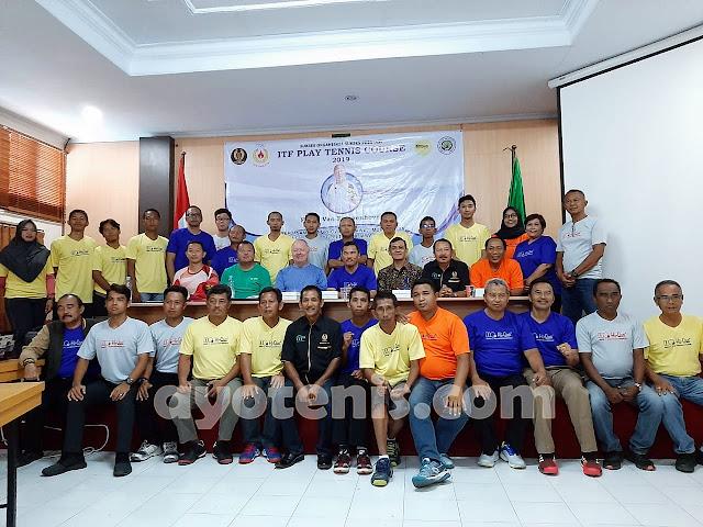 Pelti Jatim Kembali Sumbang Belasan Pelatih Berlisensi ITF Bagi Tenis Indonesia