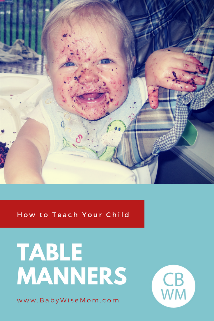 How to Teach Table Manners to Your Child and table manner ideas
