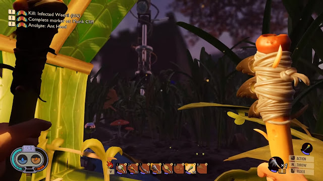 Screenshot gameplay Grounded