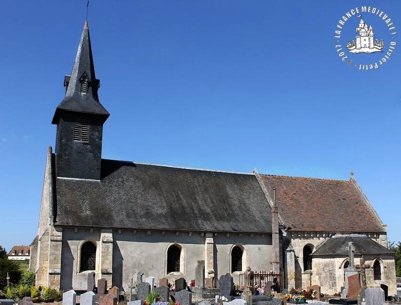 La france medievale maltot 14 eglise romane saint for Eglise romane exterieur