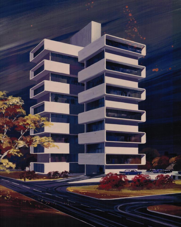 Robert B. Roloff, Architect: 1950s And 1960s
