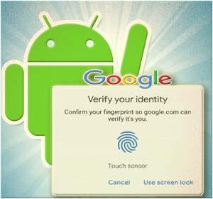 Masuk Layanan Web Google Pakai Sidik Jari (Fingerprint) Di Android? Begini Caranya