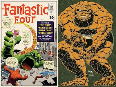 Fantastic Four Marvel Screen Prints by Jack Kirby, Ed Piskor & Mondo