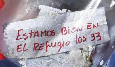 ACERCA DEL RESCATE DE LOS 33 MINEROS EN CHILE