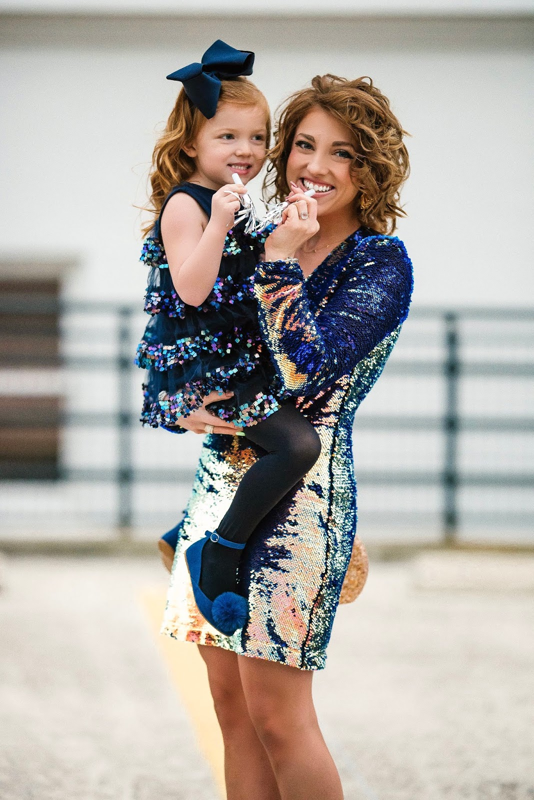 Ringing in the new year with sequins: Mommy and Me NYE Looks + Reflecting on 2018 - Something Delightful Blog