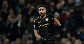 Guardiola explains why Mahrez is playing more for Man City this season