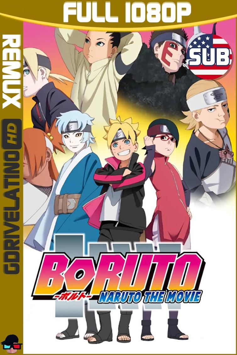 Boruto : Naruto La Pelicula (2015) BDRemux 1080p SUBTITULADO MKV