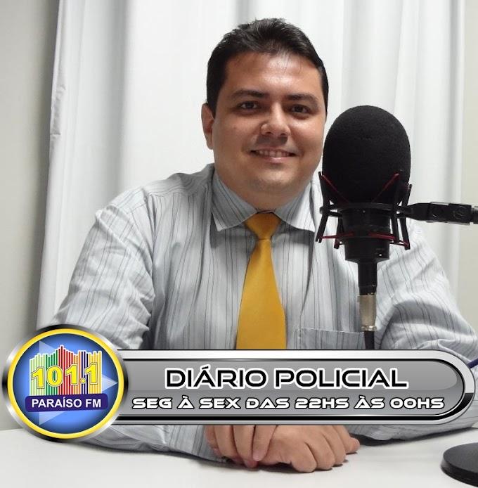 Dr. Thiago Donato apresentará o programa Diário Policial na Paraíso fm