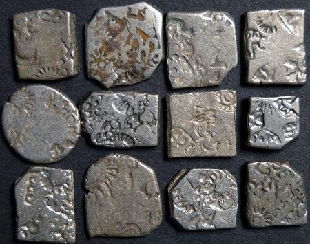 """""""आहत सिक्के""""  - भारतवर्ष के सबसे प्राचीन सिक्के"""