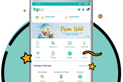 PT. TOPINDO SOLUSI KOMUNIKA || APLIKASI TOP UP & PAYMENT DIGITAL MURAH