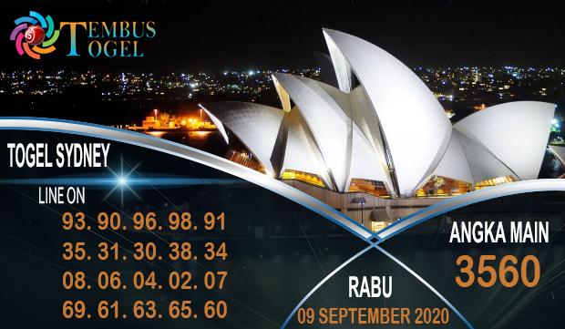 Togel Sidney Angka Bahagia Rabu 09 September 2020