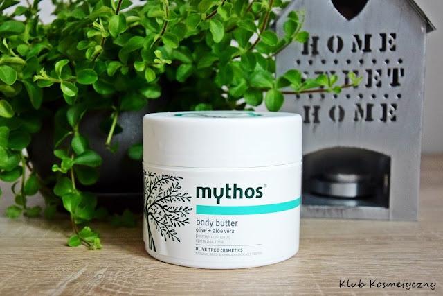 Mythos oliwkowe masło do ciała z aloesem