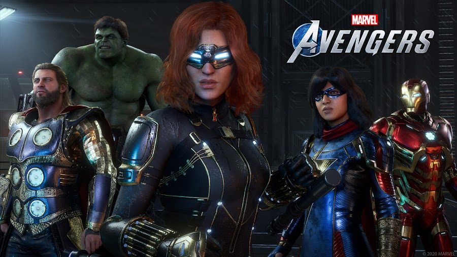 marvel's avengers war table gameplay showcase black widow hulk ms marvel iron man thor marvel games crystal dynamics eidos montréal square enix pc steam stadia ps4 xb1 xsx gameplay hero mission war zones co op multiplayer mode