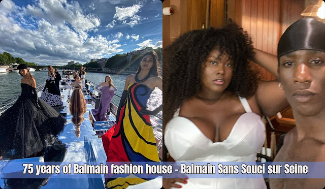 75 years of Balmain fashion house – Balmain Sans Souci sur Seine