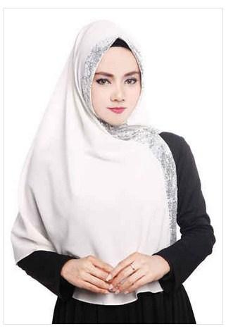Model Jilbab Syar I Payet Hijab Batik