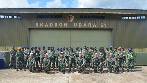 Danlanud Supadio Tutup Pendidikan Suspa Operator PTTA Lanjutan Angkatan Pertama