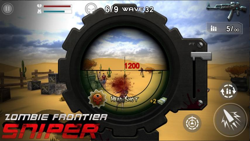 Download Zombie Frontier Sniper MOD APK 1