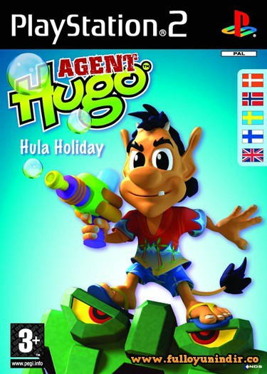 Agent Hugo Hula Holiday (PAL) Playstation 2 Tek Link